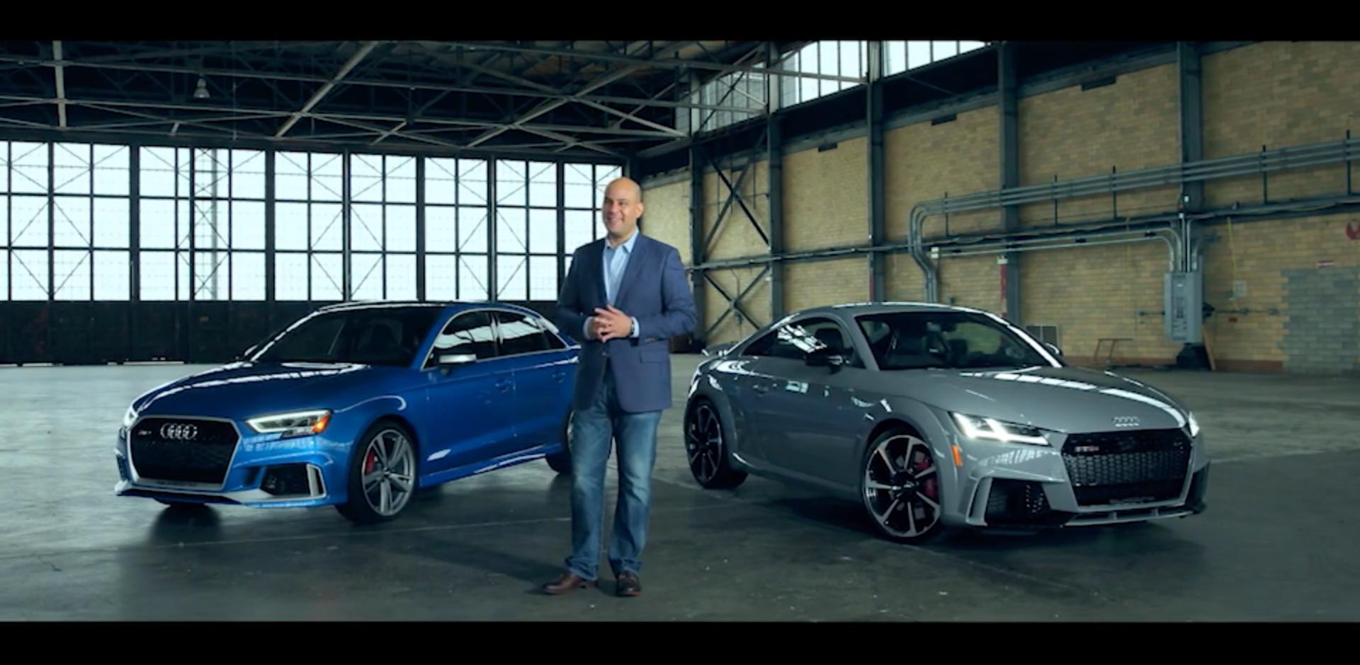 Anthony Garbis Interview Audi